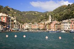 portofino Италии Стоковая Фотография RF