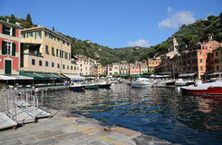 portofino Италии стоковые изображения rf