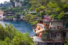 Portofino, Италия Стоковые Изображения RF