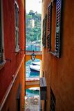 Portofino arkivbild