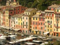 Portofino. Colored houses of the village of portofino, liguria italy Royalty Free Stock Photography