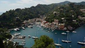 Portofino video d archivio