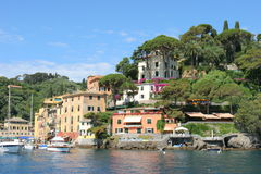 Portofino stockfotos