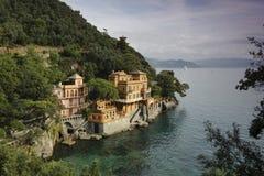 Portofino 1. Portofino.Beautiful hotel .Take a walk Royalty Free Stock Photo