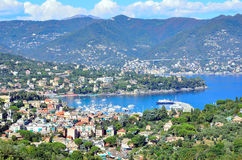Portofino coast santa margherita Royalty Free Stock Photo