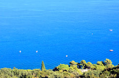 Portofino coast santa margherita Royalty Free Stock Photography