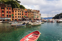 Portofino, fishing village Stock Images
