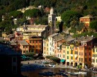 Portofino Génova en Liguria Italia Imágenes de archivo libres de regalías