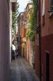 Portofino, Genua, Italien Schöne Gasse Stockfoto