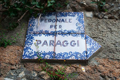 Portofino, Genua, Ligurië, Italië, Italiaanse Riviera, Europa Royalty-vrije Stock Foto's