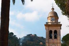 Portofino Genua, Liguria, Italien, italienare Riviera, Europa Arkivfoton