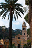 Portofino Genua, Liguria, Italien, italienare Riviera, Europa Fotografering för Bildbyråer