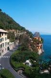 Portofino Genua, Liguria, Italien, italienare Riviera, Europa Arkivbilder