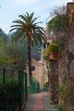 Portofino Genua, Liguria, Italien, italienare Riviera, Europa Royaltyfri Fotografi