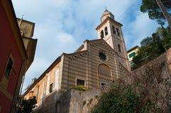 Portofino, genua, Liguria, Włochy, włoszczyzna Riviera, Europa Obraz Stock