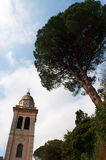 Portofino, genua, Liguria, Włochy, włoszczyzna Riviera, Europa Obrazy Stock