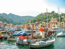 Portofino harbor Italy Royalty Free Stock Photography