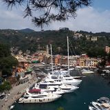 Portofino Harbour, marina, harbor, waterway, boat. Portofino Harbour is marina, boat and sky. That marvel has harbor, city and dock and that beauty contains royalty free stock photo