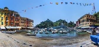 Portofino, Italia, liguria. Portofino beautifull place, boat and sea Stock Photos