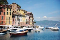 Portofino Italien Royaltyfri Foto