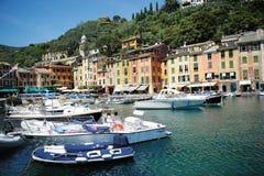 Portofino Italien Royaltyfri Bild