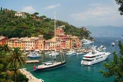 Portofino, Italien Stockfotos