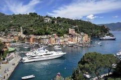 Portofino, Italien Stockbild