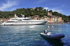 Portofino, Italien Stockfotografie
