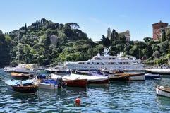 Portofino - Italien Stockfoto
