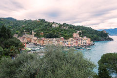 Portofino in Italien Stockfoto