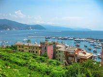 Portofino italienare Riviera Royaltyfria Bilder