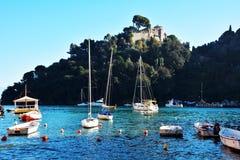 Portofino Italy Ligurian coast Royalty Free Stock Photos