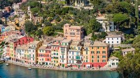 Architecture of Portofino, Italy Stock Photography