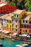 Architecture of Portofino, Italy Royalty Free Stock Images