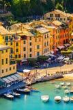 Architecture of Portofino, Italy Royalty Free Stock Image