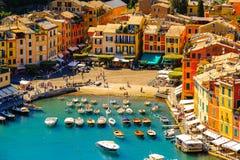 Architecture of Portofino, Italy Royalty Free Stock Photography