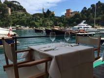 Portofino, Itlay Images libres de droits