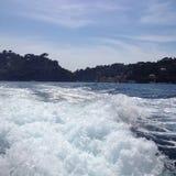 Portofino kustitalienare Riviera royaltyfria foton
