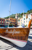 Portofino landmark detail Stock Photography