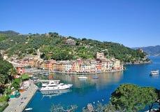 Portofino in liguria Stock Images