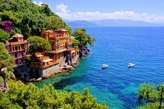 Portofino luksus Obrazy Royalty Free