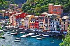 Portofino luxuoso, Liguria Foto de Stock
