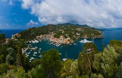 Portofino-Luxus-Resort - Italien Lizenzfreie Stockbilder