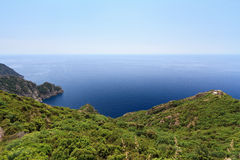 Portofino natural park Royalty Free Stock Photography
