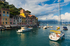Portofino. Is one of the most famous tourist destinations of Italy Stock Image