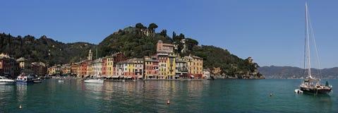 Portofino. A pérola do mar Ligurian #6. Foto de Stock Royalty Free