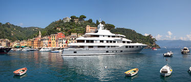 Portofino panoramic view. Stock Photography