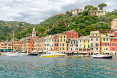 Portofino. The resort town in Liguria. Royalty Free Stock Photography
