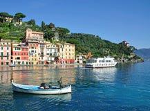portofino riviera Италии стоковое фото rf