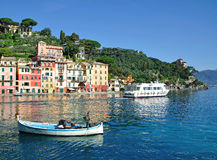Portofino,Riviera,Italy. In portofino on the italian riviera in liguria,italy Royalty Free Stock Photo